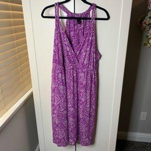 Lane Bryant Double Braided Strap Tank Dress